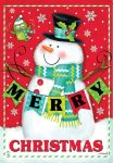 MERRY CHRISTMAS PALS GARDEN FLAG